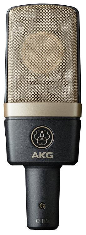 AKG STUDIO CONDENSER MICROPHONE - C314