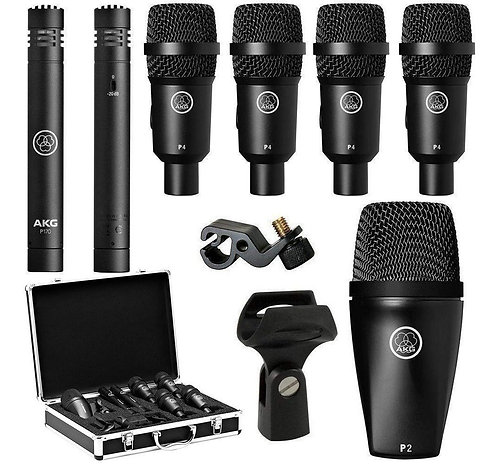 AKG HIGH-PERFORMANCE DRUM MICROPHONE - DRUM SESSION I