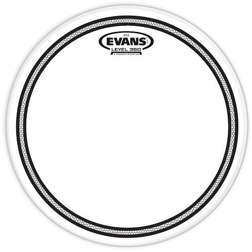 EVANS EC2 CLEAR DRUM HEAD, 10 INCH