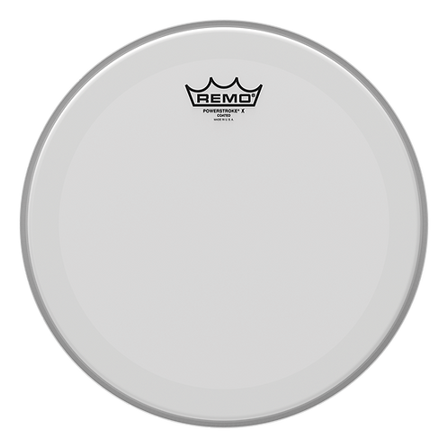 REMO POWERSTROKE P3 X COATED DRUMHEAD, 13""