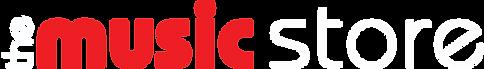 logo oficial the music store horizontal.