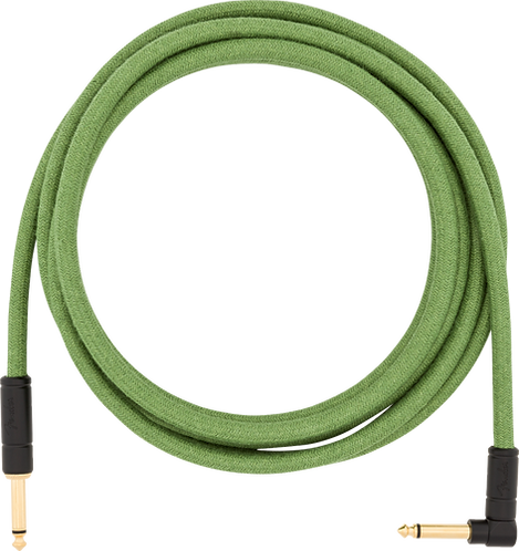 FENDER 10' ANG CABLE, PURE HEMP GRN