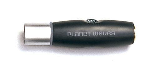 PLANET WAVES XLR MALE TO 1/4 INCH FEMALE BALANCED ADAPTOR