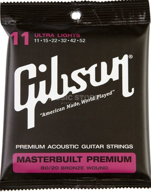 GIBSON MASTERBUILT PREMIUM BRONZ SAG-BRS11