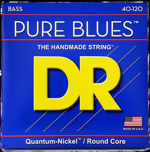 DR STRINGS PURE BLUES 5 STRINGS 40-120 PB5-40