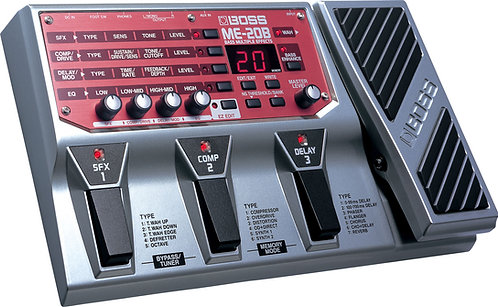 BOSS BASS MULTIPLE EFFECTS ME-20B