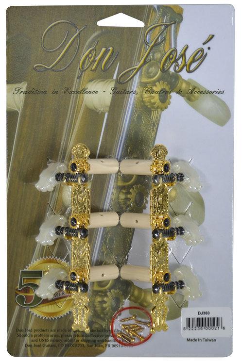 DON JOSE CLASSICAL GUITAR GOLD-TONE MACHINE HEADS