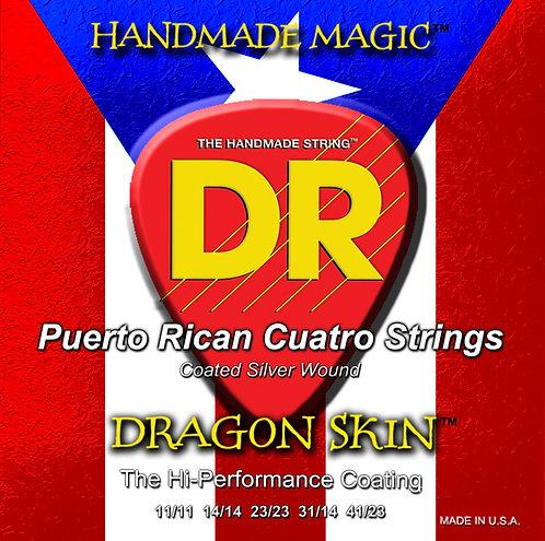 DR STRINGS CUATRO DRAGONSKIN 3-CUATRO