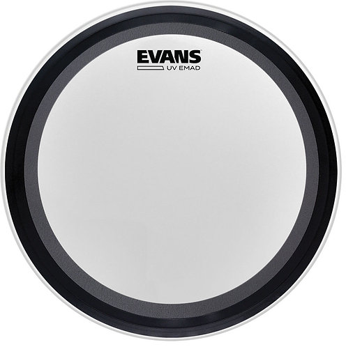 EVANS UV EMAD COATED BASS HEAD, 22 INCH