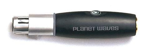 PLANET WAVES XLR FEMALE TO 1/4 INCH FEMALE BALANCED ADAPTOR