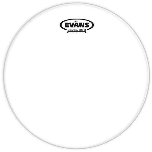 EVANS G12 CLEAR DRUM HEAD, 14 INCH