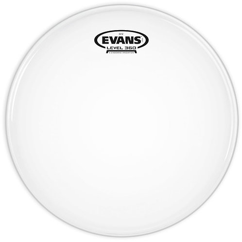 EVANS G12 COATED WHITE DRUM HEAD, 10 INCH