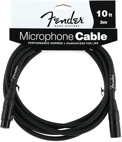 FENDER FENDER 10' MICROPHONE CABLE