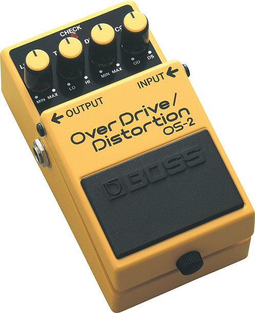 BOSS OVERDRIVE DISTORTION PEDAL OS-2