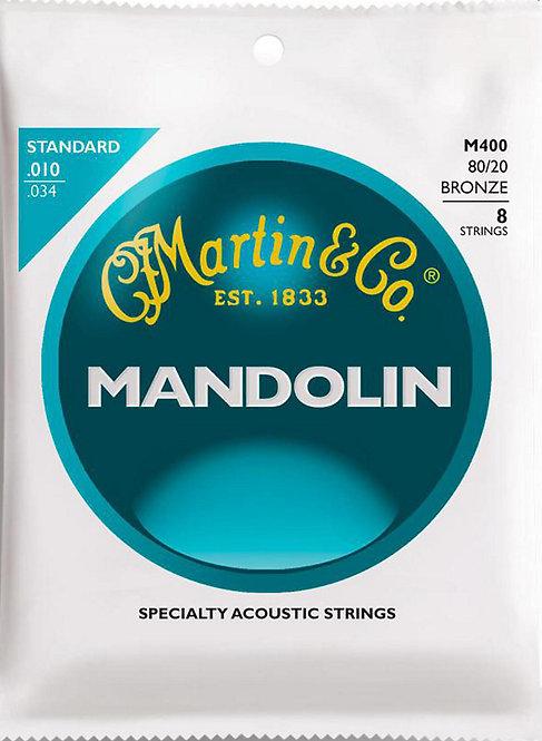 MARTIN MANDOLIN, LIGHT, 80/20 - M400