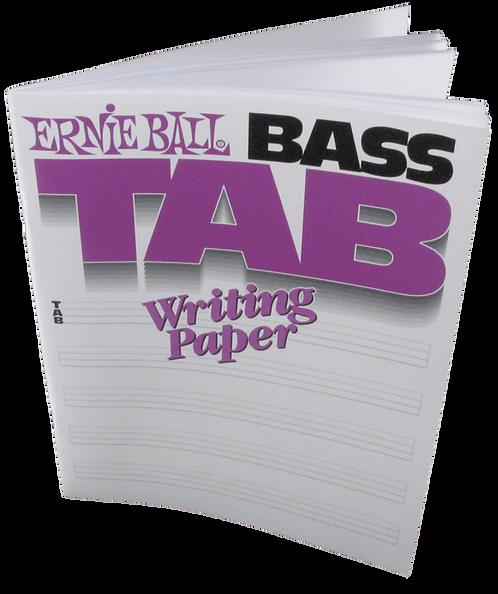 ERNIE BALL 7022 BASS TAB BOOK