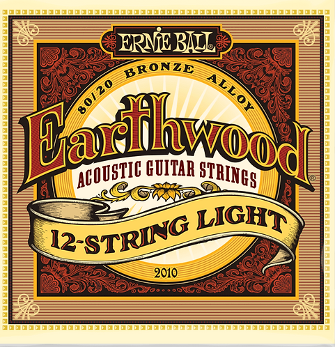 ERNIE BALL 2010 EARTHWOOD 12 STRING LIGHT