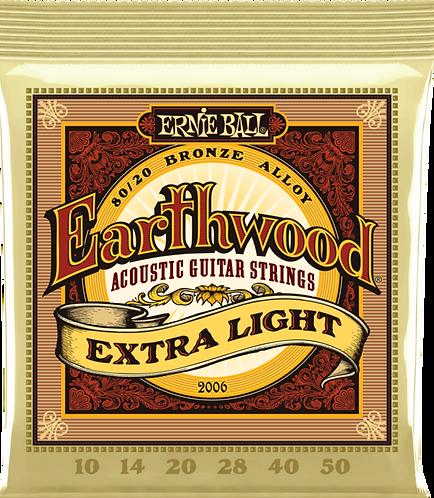 ERNIE BALL 2006 EARTHWOOD XTR LIGHT