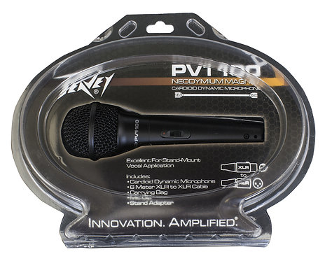 PEAVEY MICROPHONE W/XLR CABLE - PVI 100 XLR
