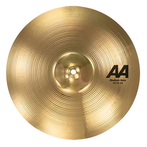 SABIAN 14 AA Medium Hats Brilliant Finish