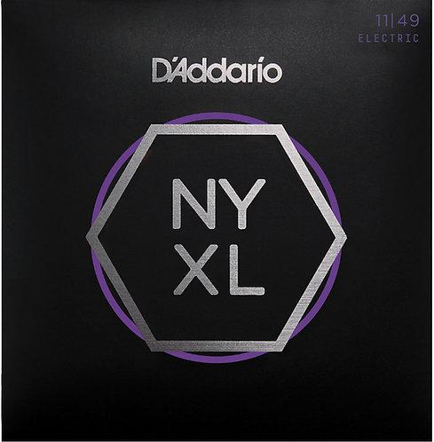 D'ADDARIO NYXL1149 NICKEL WOUND , MEDIUM, 11-49