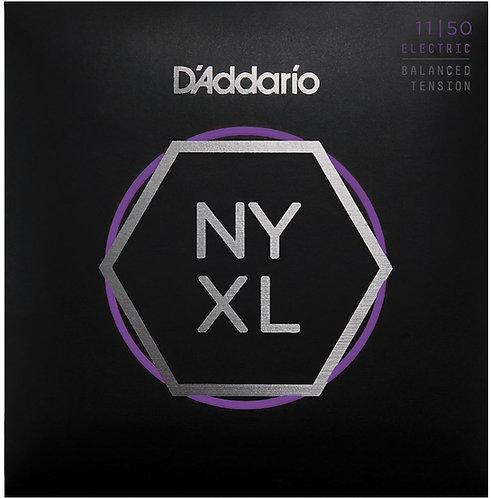 D'ADDARIO NYXL1150BT NICKEL WOUND , BALANCED TENSION MEDIUM, 11-50
