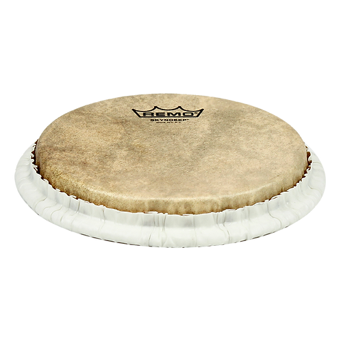 REMO TUCKED SKYNDEEP BONGO DRUMHEAD - CALFSKIN GRAPHIC, 7.15""