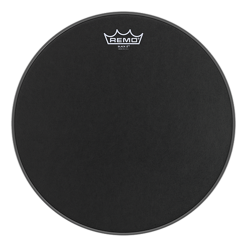 REMO EMPEROR X COATED SNARE DRUMHEAD - BOTTOM BLACK DOT, 13""