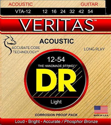 DR STRINGS VERITAS LIGHT 12-54 VTA-12