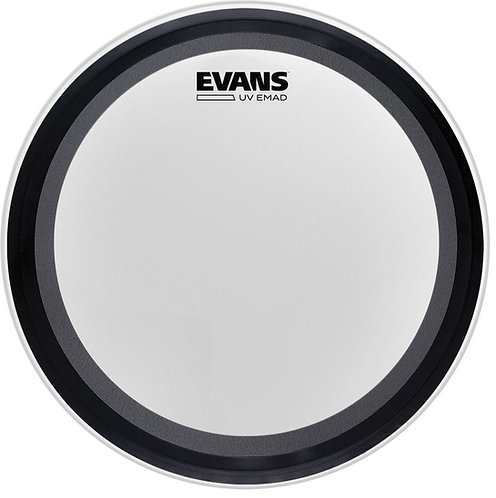 EVANS UV EMAD COATED BASS HEAD, 20 INCH