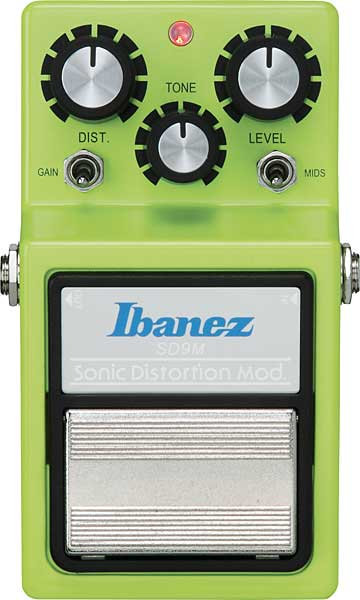 IBANEZ - SD9M - SONIC DISTORTION MODIFIED
