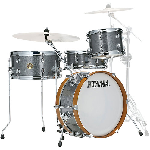 TAMA CLUB-JAM 4-PIECE SHELL PACK WITH 18 IN. BASS DRUM GALAXY SILVER