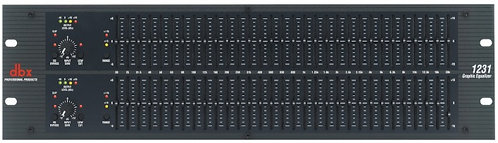 DBX DUAL 31 BAND EQUALIZER 1231