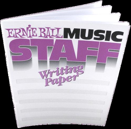 ERNIE BALL 7019 MUSIC STAFF
