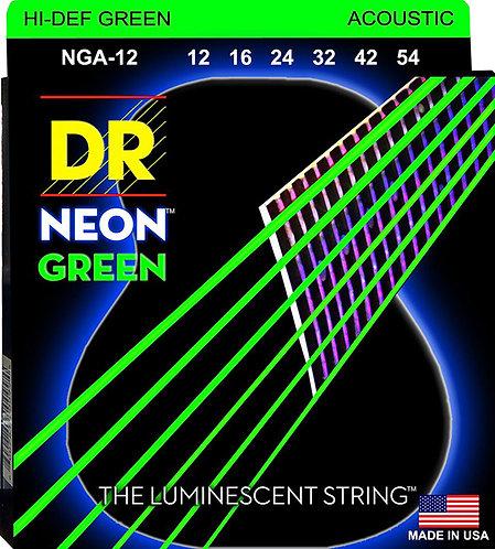 DR STRINGS HI DEF GREEN NGA-12