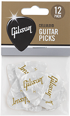 GIBSON PEARLOID GUITAR PICKS 12 - APRW12-74H