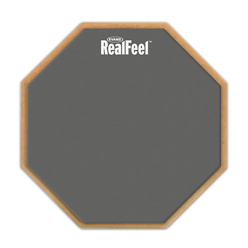 REALFEEL™ BY EVANS 2-SIDED PRACTICE PAD, 6 INCH