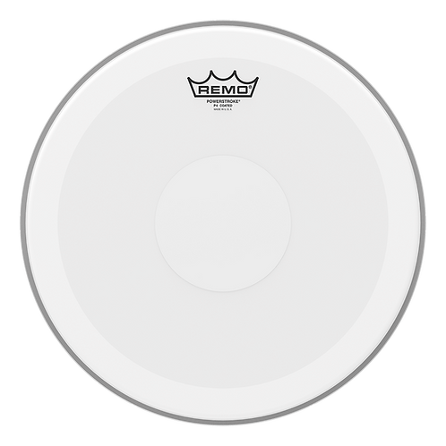 """REMO POWERSTROKE P4 COATED DRUMHEAD - TOP CLEAR DOT, 13"""""""