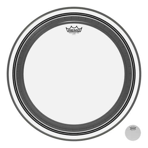 """REMO POWERSTROKE PRO CLEAR BASS DRUMHEAD, 20"""""""