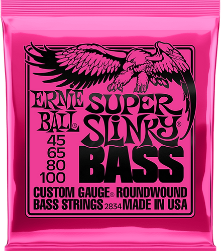 ERNIE BALL 2834 SLINKY BASS 45-100