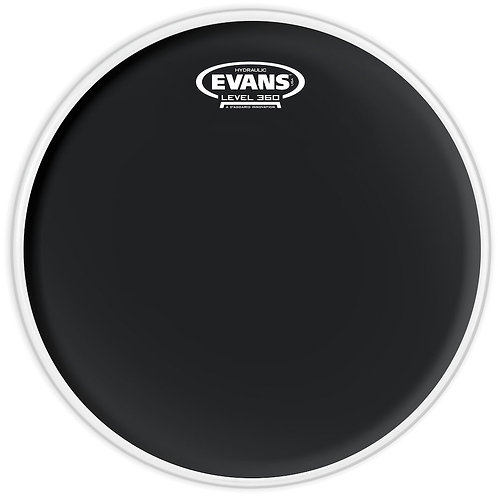 EVANS HYDRAULIC BLACK DRUM HEAD, 13 INCH