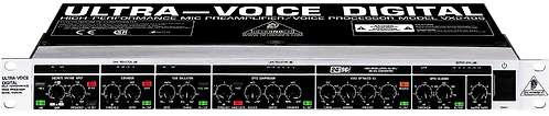 BEHRINGER VX2496 MIC PREAMPLIFIER/VOICE PROCESSOR