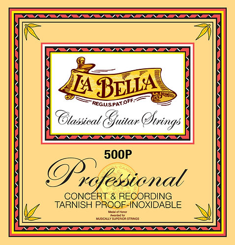 LA BELLA 500P CLASSIC GUITAR STRING