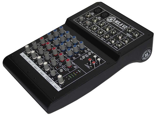 TOPP PRO MX.6 USB COMPACT MIXER WITH USB