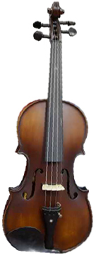 HOFFER 4/4 ANTIQUE FINISH ELECTRIC VIOLIN OUTFIT