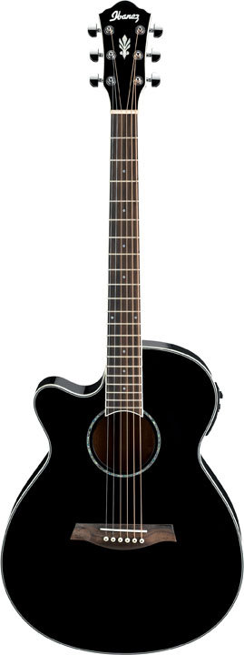 IBANEZ - AEG10LIIBK - AEG ACOUSTIC ELECTRIC GUITAR LEFTY
