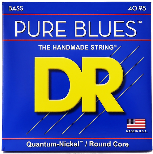 DR STRINGS VICTOR WOOTEN PURE BLUES PBVW-40
