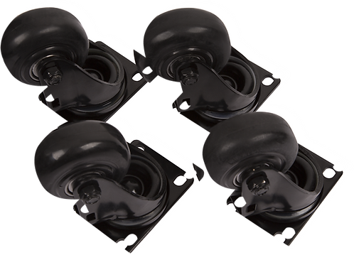 FENDER FORTIS SUB CASTERS (4)