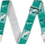 Thumbnail: FENDER STRAP, CUSTOM MONO, SEA FOAM GREEN