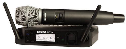SHURE GLXD2/SM86 DIGITAL HANDHELD TRANSMITTER WITH SM86 CAPSULE